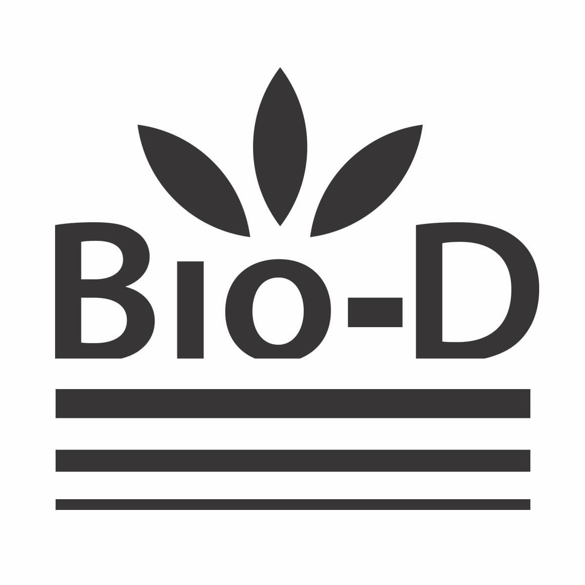 BioD Logo Biodegradable Product