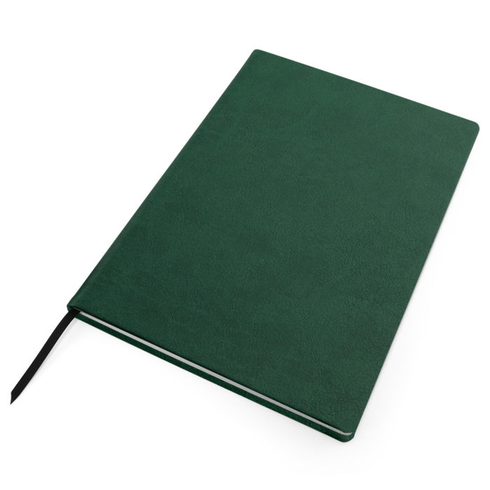 Green Como Born Again Recycled Notebook