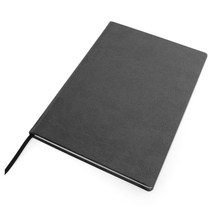Grey Como Born Again Recycled Notebook