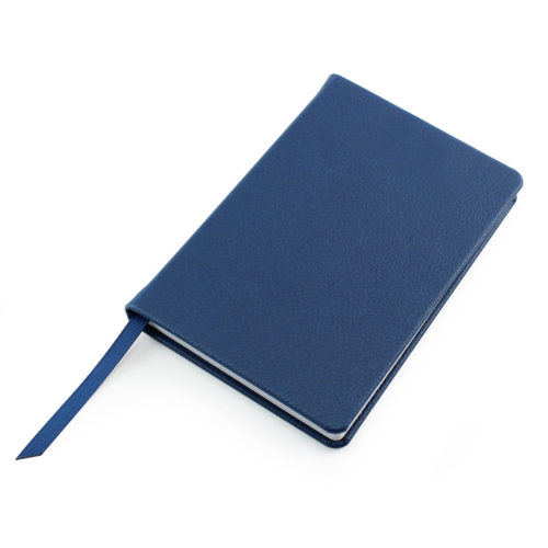 Blue Como Recycled A6 Notebook