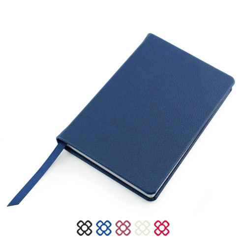 omo Recycled A6 Notebook ion a choice of 5 colours