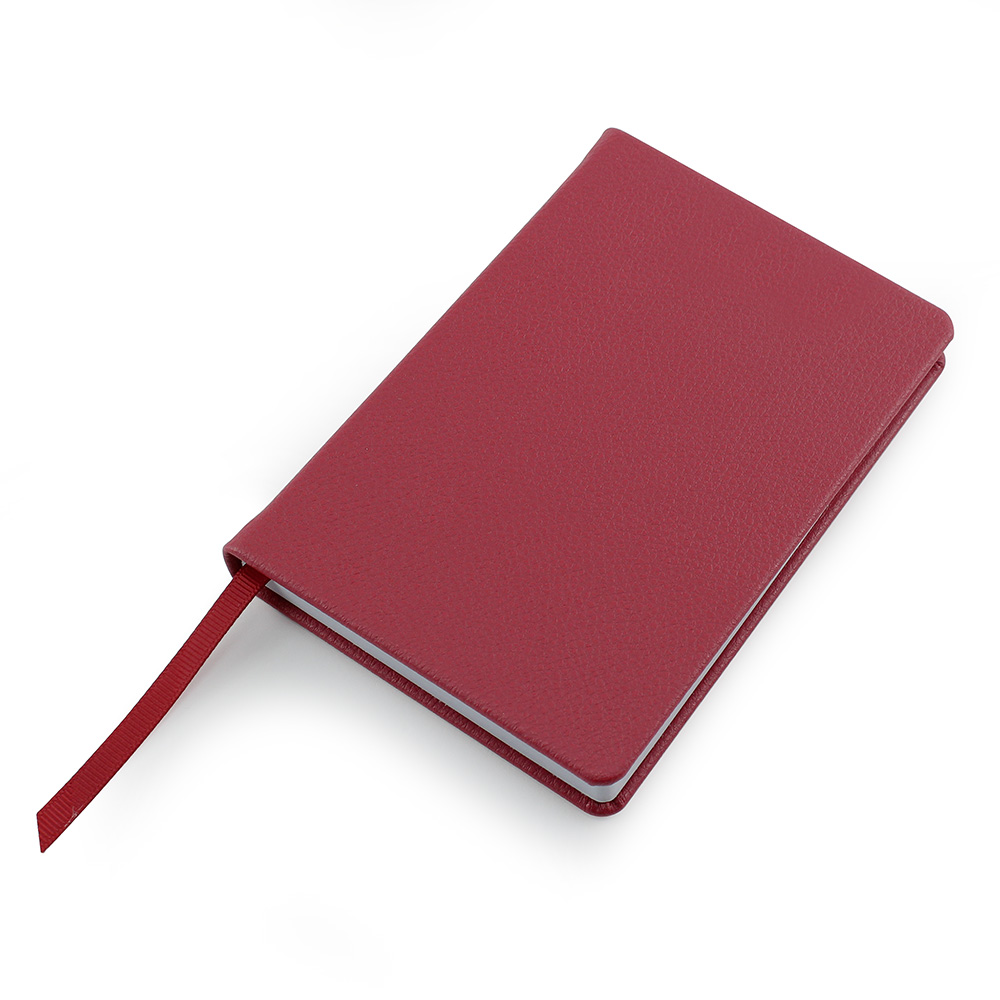 Raspberry Como Recycled A6 Notebook