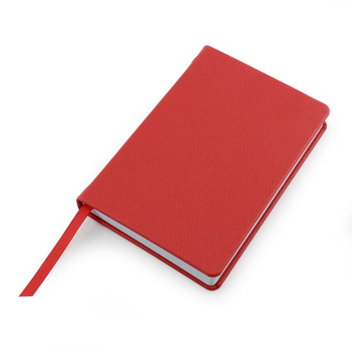 Red Como Recycled A6 Notebook