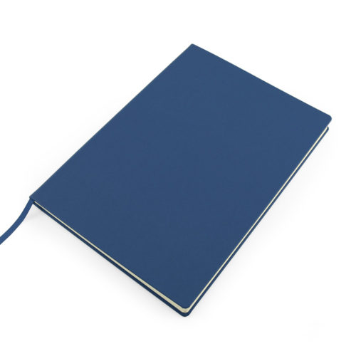 Blue Como Recycled A4 Notebook