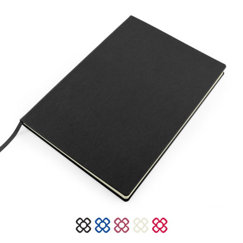 Como Recycled A4 Notebook with Recycled Paper in a choice of 5 colours