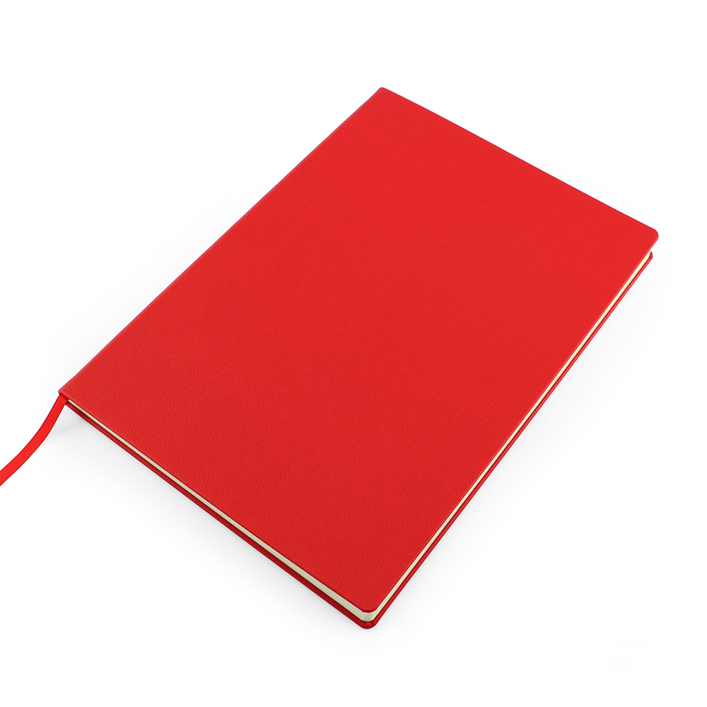 Red Como Recycled A4 Notebook