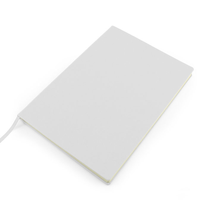 White Como A4 Recycled Notebook