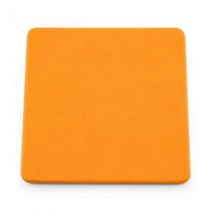 Orange Soft Touch Square Coaster
