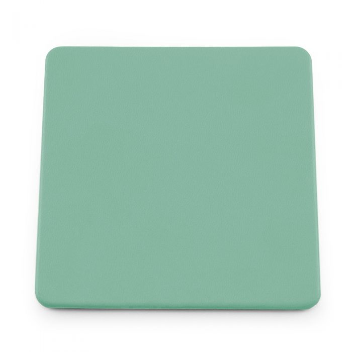 Peppermint Soft Touch Square Coaster