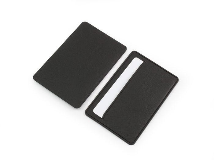 Black Slimline card case Biodegradable