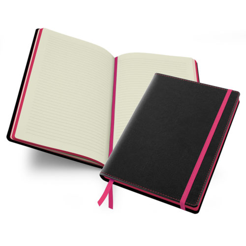 Accent Notebook in Pink