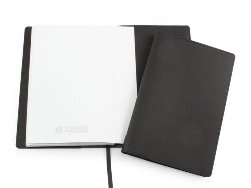 Biodegradable Notebook Jacket in Black