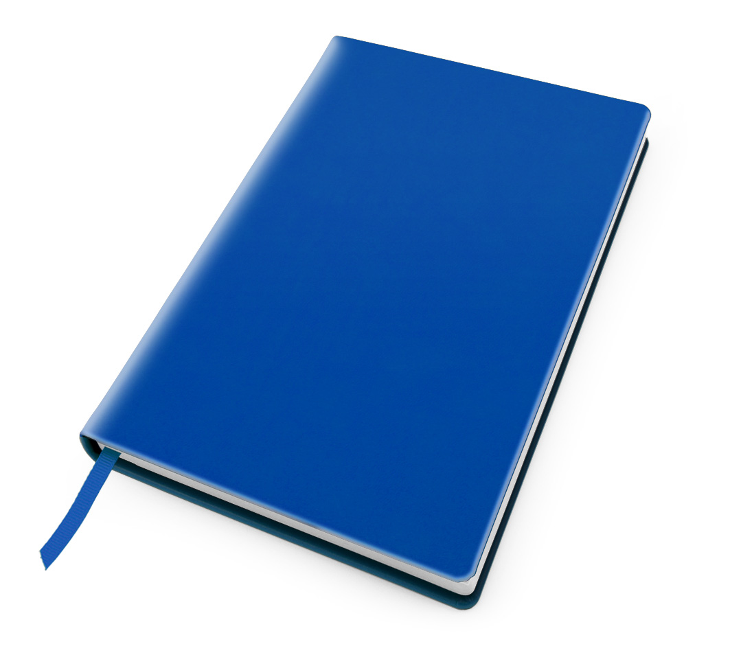 Cesca A5 Dot Book in Azure Blue