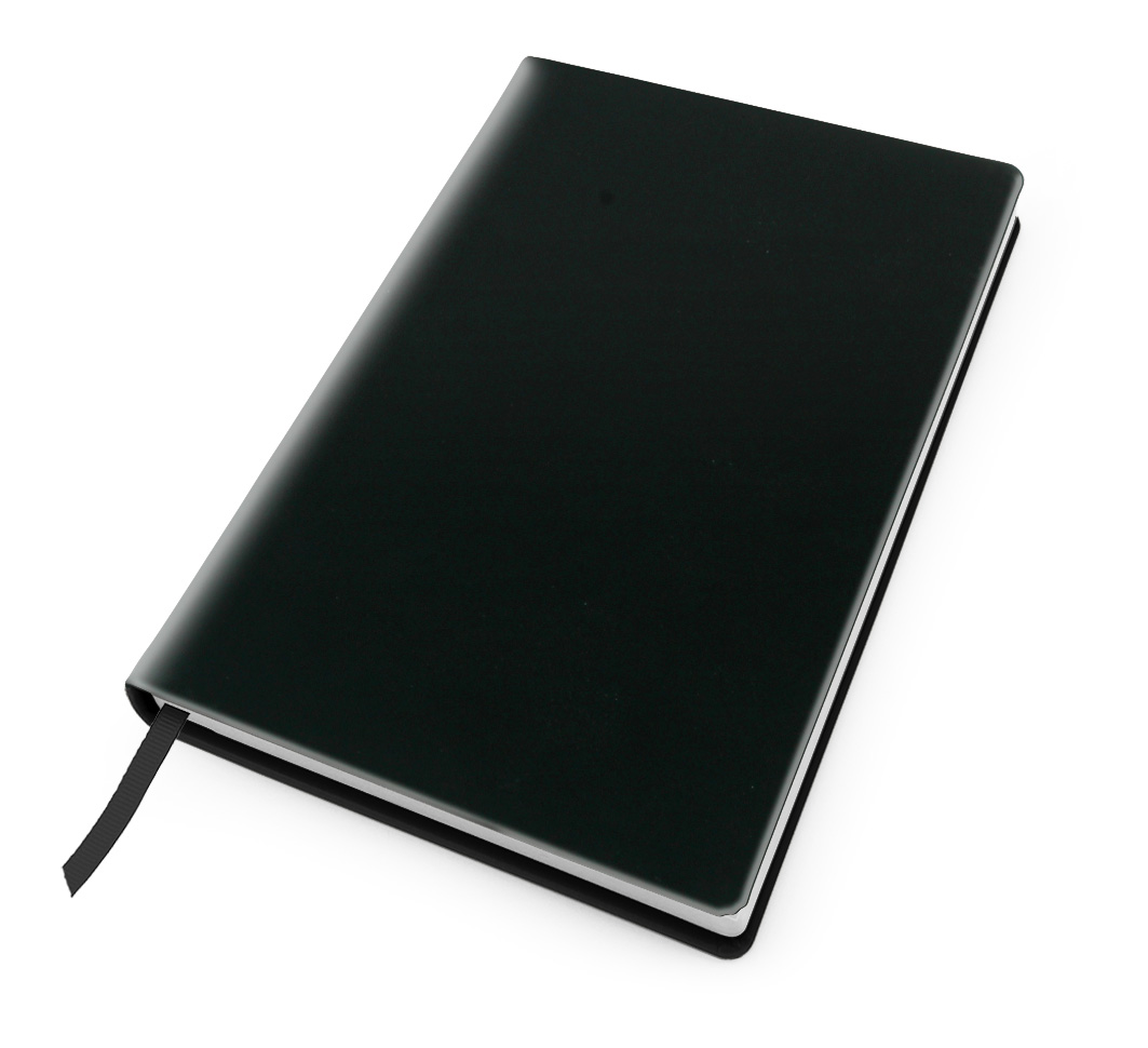Cesca A5 Dot Book in Black