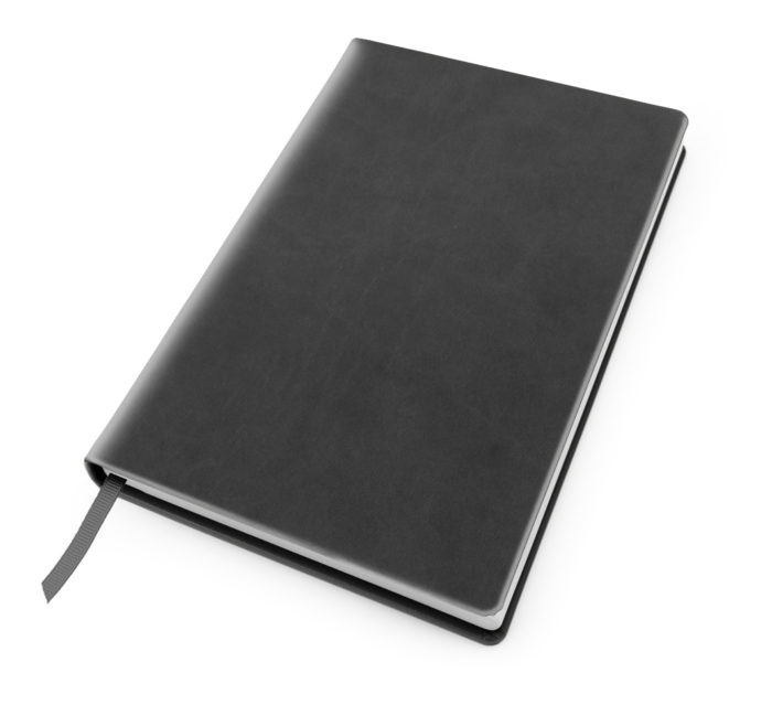 Cesca A5 Dot Book in Dark Grey