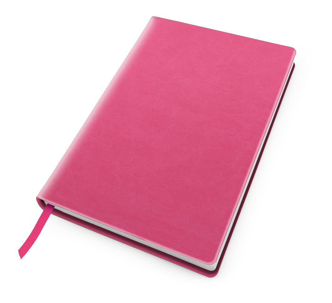Hot pink Cesca dot bullet notebook.