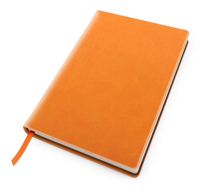 Cesca A5 Dot Book in Orange