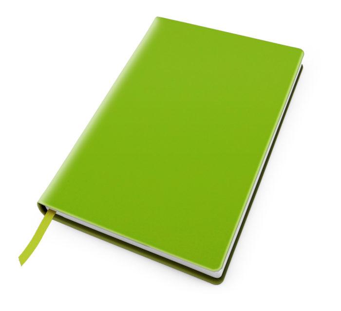 Cesca A5 Dot Book in Pea Green