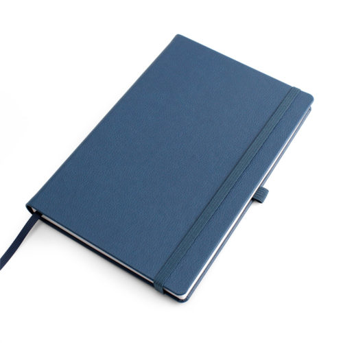 Blue Como Born Again A5 Deluxe Notebook