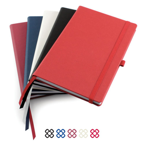 Como Born Again A5 Deluxe Notebook in 5 colours.