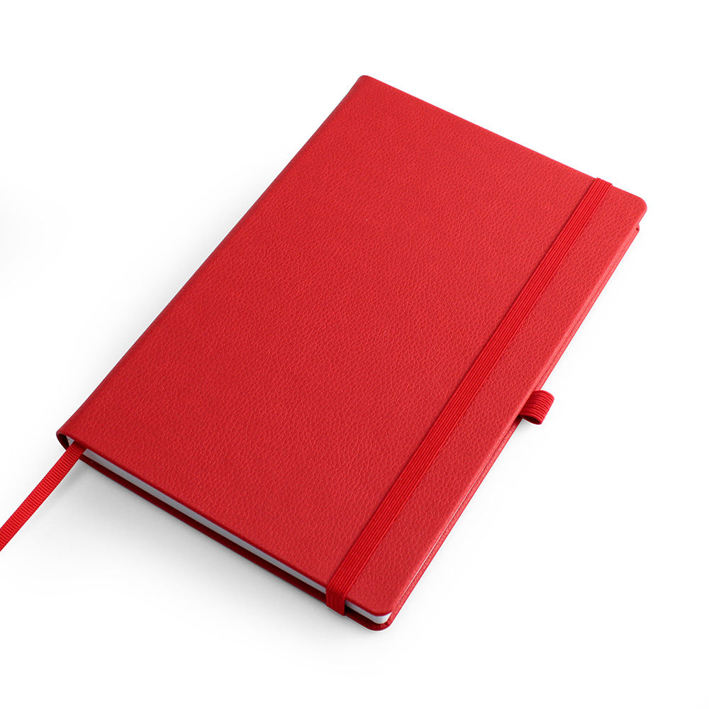 Red Como Born Again A5 Deluxe Notebook