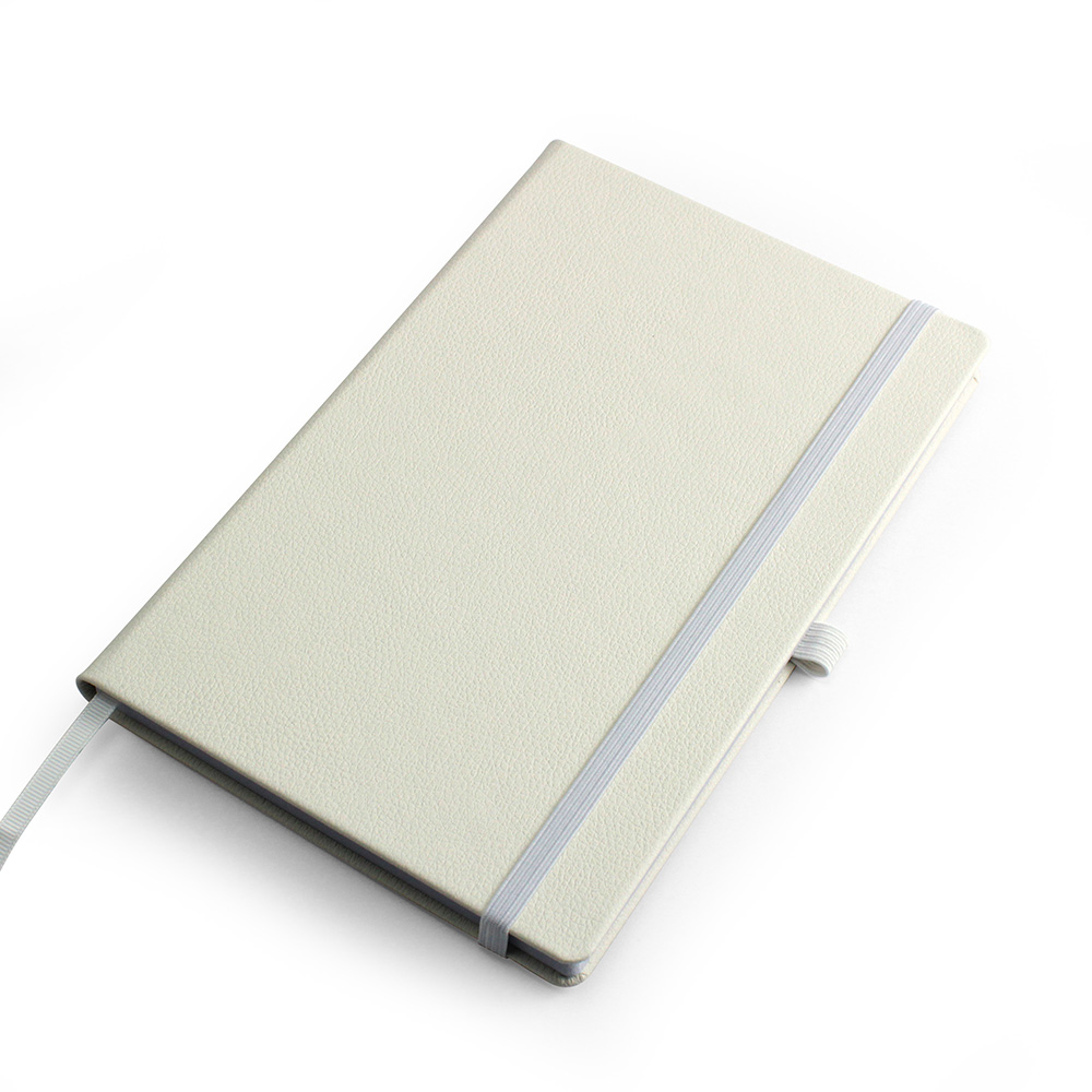 White Como Born Again A5 Deluxe Notebook
