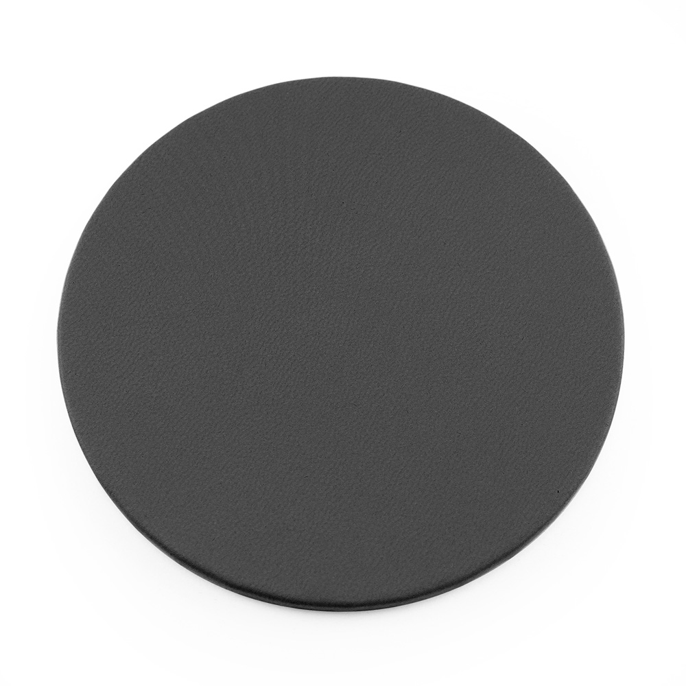 Dark Grey Round Coaster