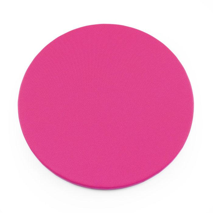 Hot Pink Round Coaster