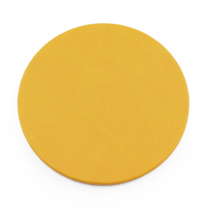 Sunflower Yellow Round Coaster