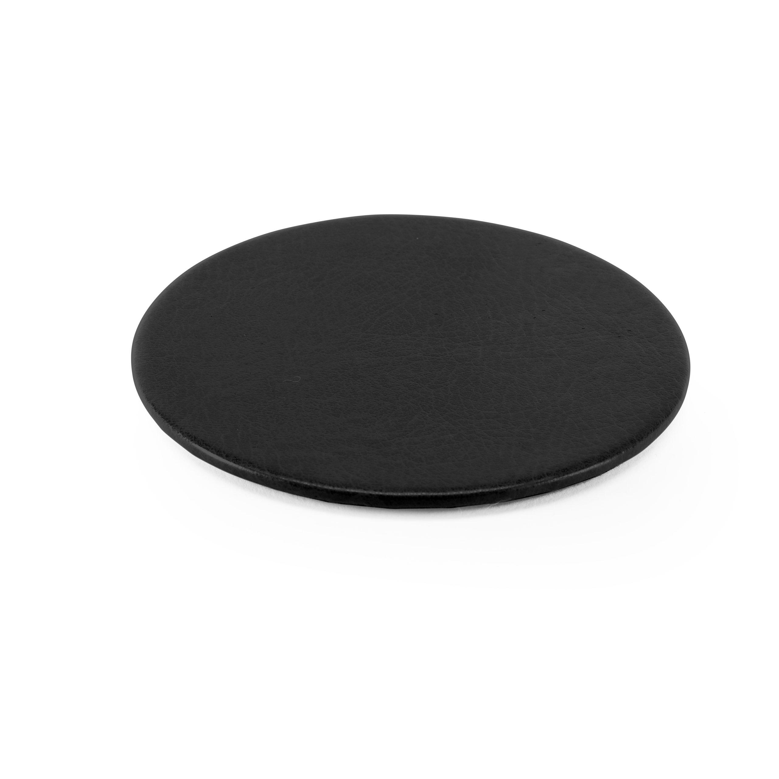 Lifestyle Round Coaster in Black