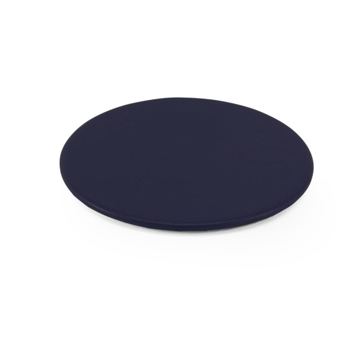 Lifestyle Round Coaster in Navy