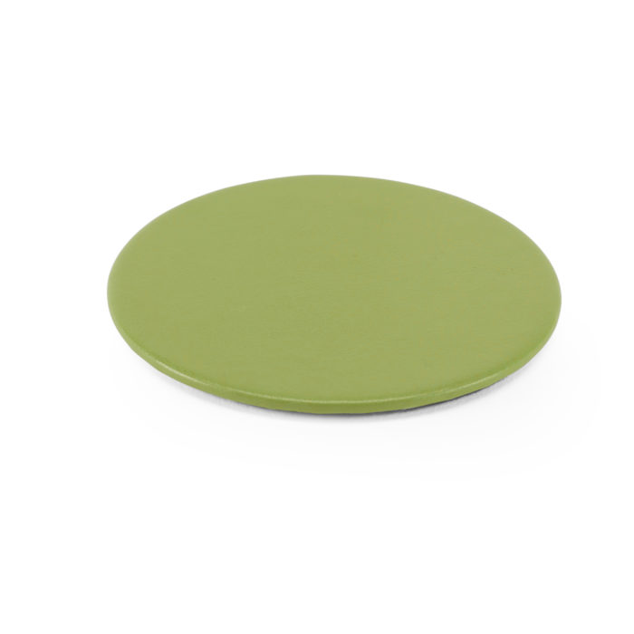 Lifestyle Round Coaster in Lime Green