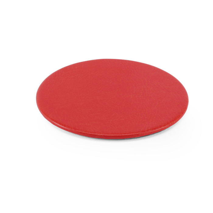 Lifestyle Round Coaster in Red