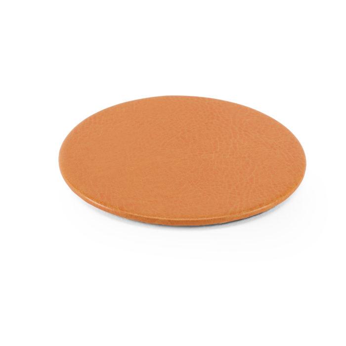 Lifestyle Round Coaster in Orange