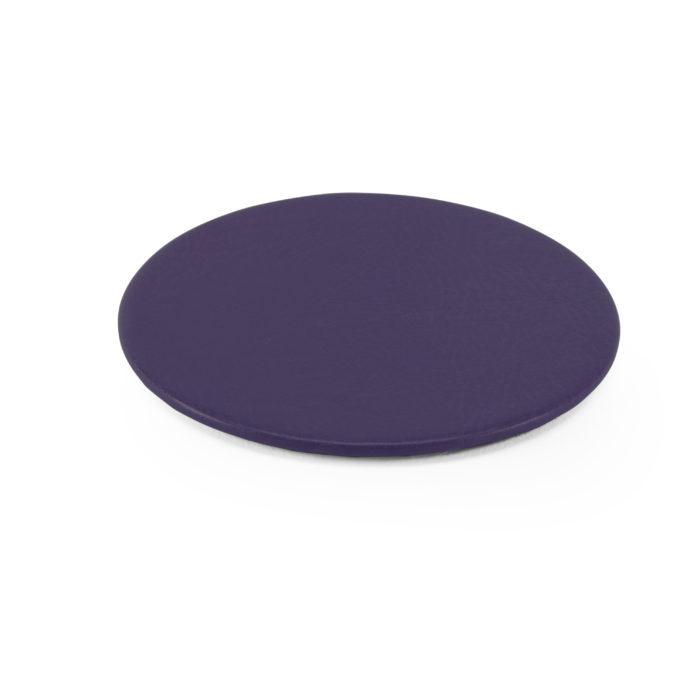Lifestyle Round Coaster in Purple