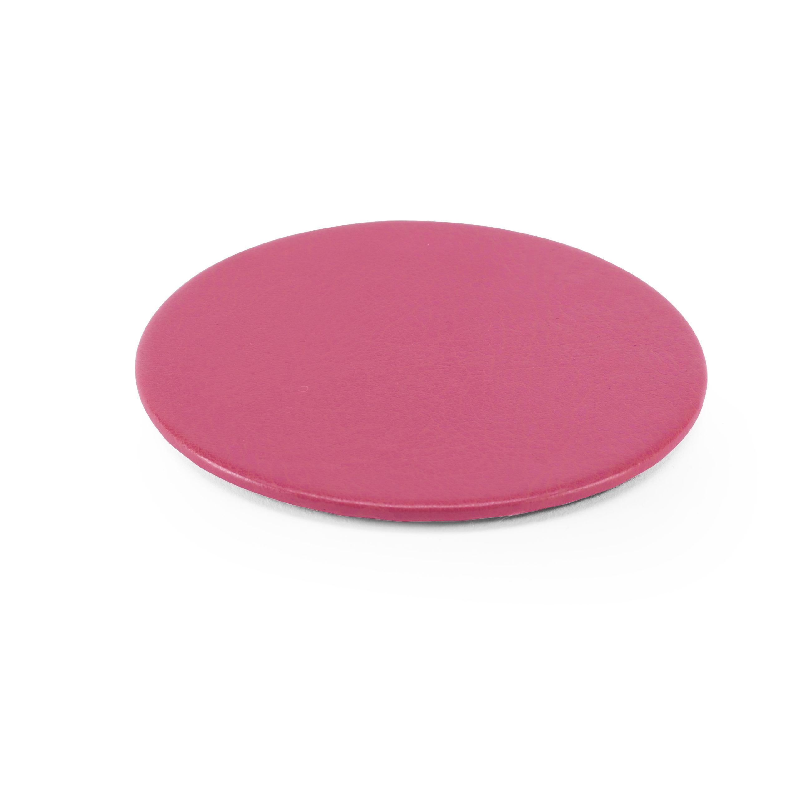 Lifestyle Round Coaster in Pink
