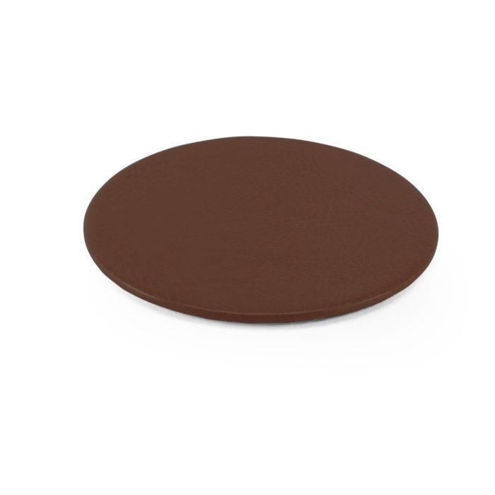 Lifestyle Round Coaster in Brown