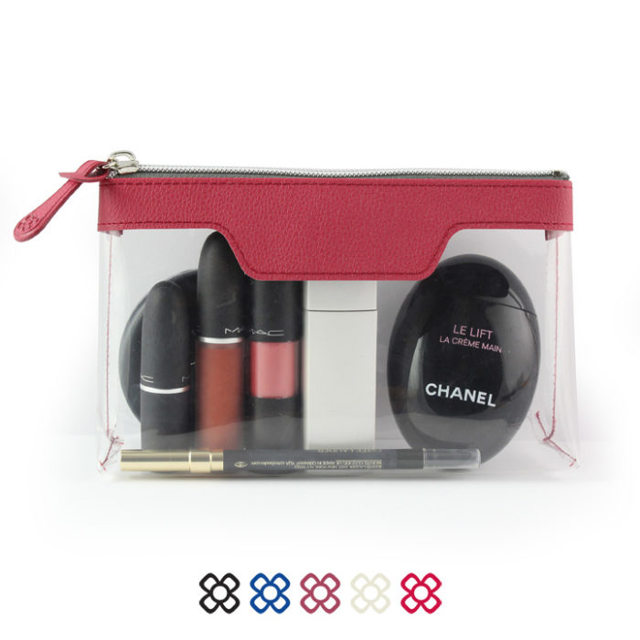 Como Zipped Travel or Cosmetics bag in a choice of 5 colours.