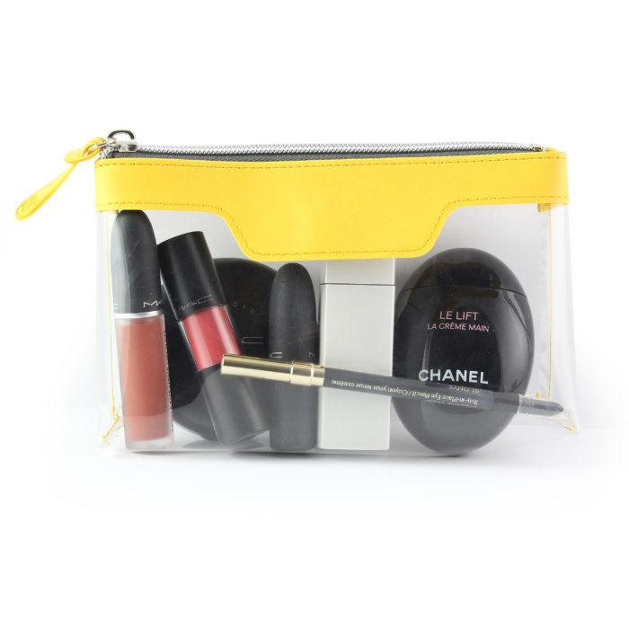 Sunflower Yellow Soft Touch mall Zipped Travel Bag