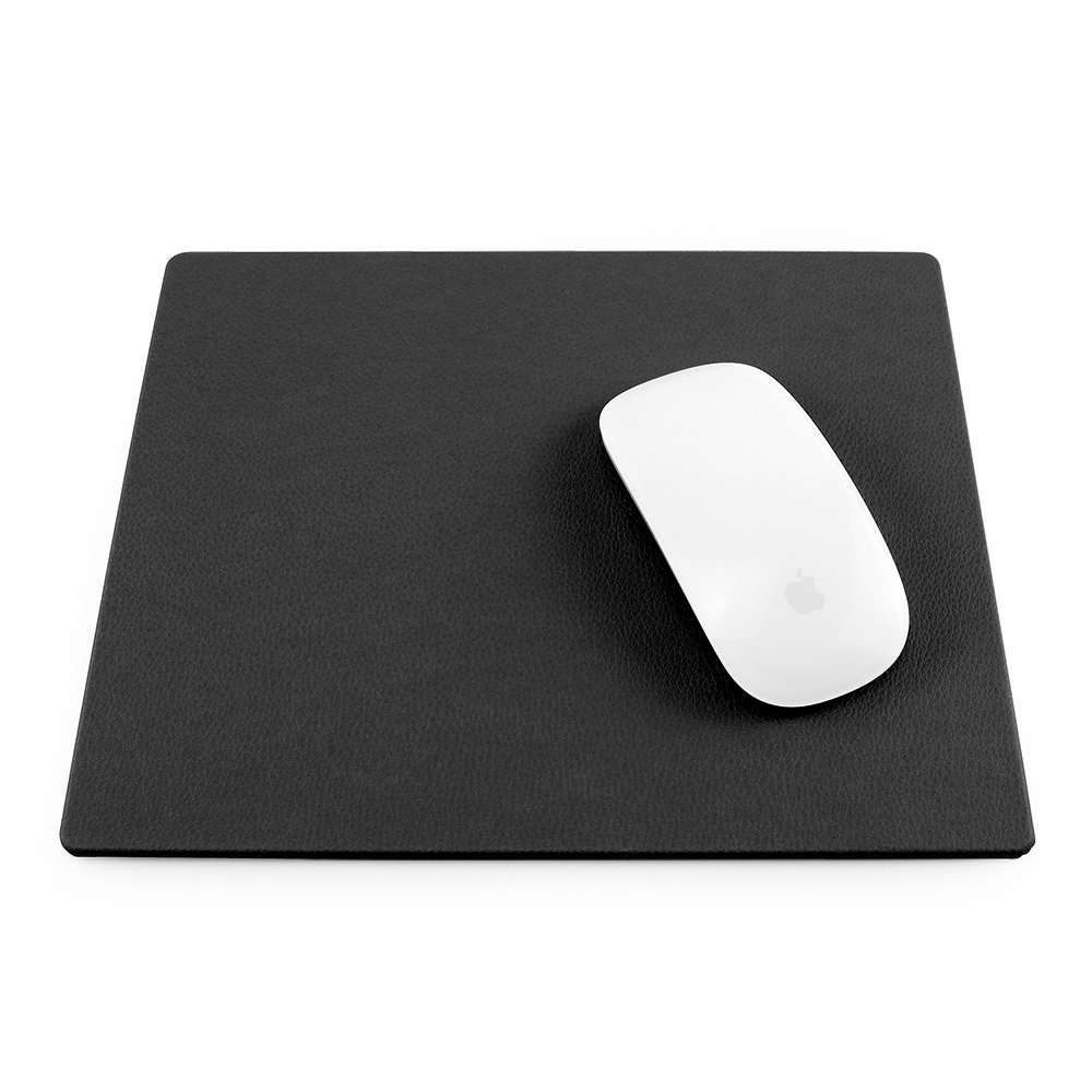 Black Como Recycled Mouse Mat.