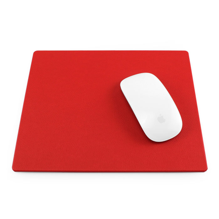 Red Como Recycled Mouse Mat.