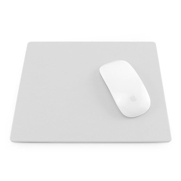 White Como Recycled Mouse Mat.